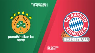 Panathinaikos OPAP Athens - FC Bayern Munich Highlights | Turkish Airlines EuroLeague, RS Round 11