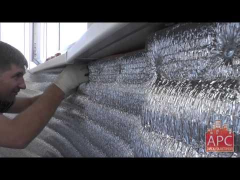 Технология утепления и пароизоляции полукруглого балкона