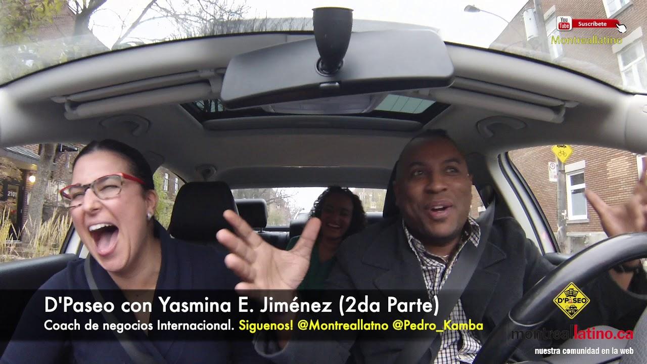 De Paseo con Yamina Jimenez y Pedro kamba Mtl