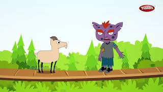 Three Billy Goats Gruff Story in English | Fairy Tales English Moral Stories English | Storytelling
