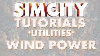 SimCity 2013 Tutorial - WIND POWER