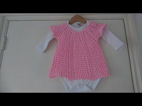 Siems Baby Truitje Voor Een Meisje Maat 7480 Haken Tutorial