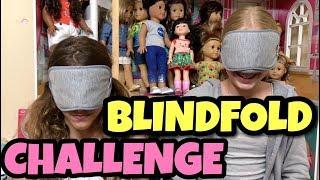American Girl Blindfold Challenge