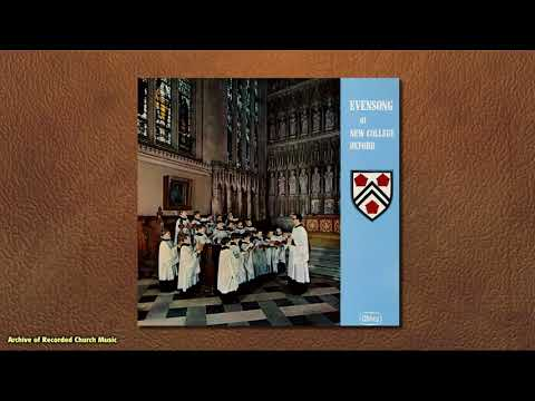 """Evensong at New College Oxford"": New College Oxford 1973 (David Lumsden)"