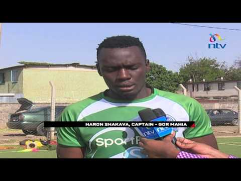 Gor Mahia's opponents Leones train in Machakos