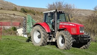 Preparando la tierra y sembrando (Massey Ferguson 6499 - 8947)