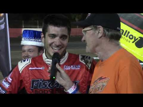 Aaron Reutzel wins the King of 360's Ronald Laney Memorial at East Bay Raceway Park FL