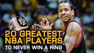 20 Greatest NBA Players to Never Win a Championship Ring!