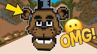 EL SECRETO DE FREDDY FAZBEAR 👂😱 MINECRAFT BUILD BATTLE LEGENDARIO!!! #8