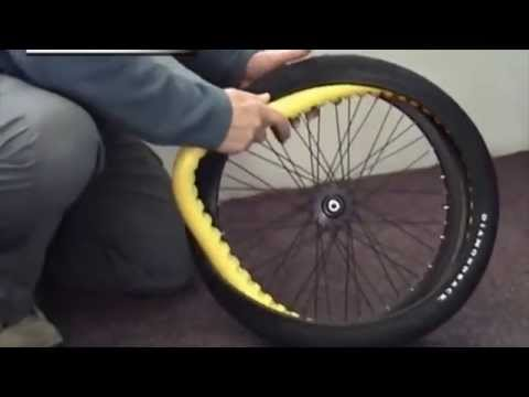 1e0ae14c498 Stop a Flat Installation Video Stopaflat Bicycle Tyre - YouTube