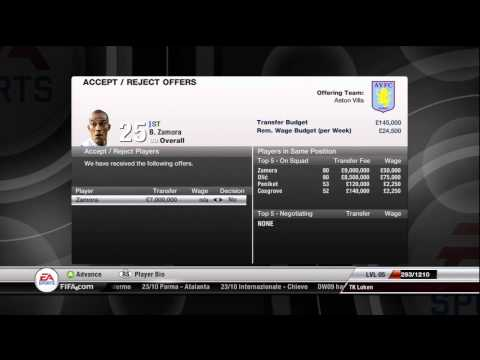 FIFA 12 - Fulham FC - Manager Mode Commentary - Episode 3 -