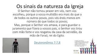 EBD   A Natureza da Igreja   Pb. Valter Batista