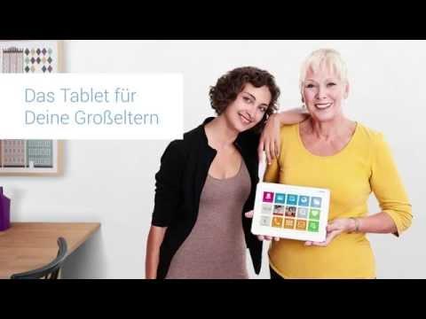 asina - Endlich das Tablet für deine Großeltern