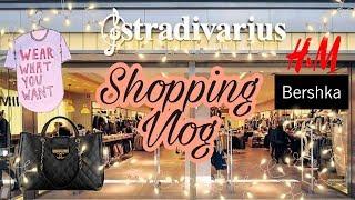 ШОППИНГ ВЛОГ Stradivarius Bershka Reserved покупки одежды 2019 SHOPPING HAUL
