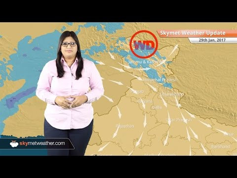 Weather Forecast for Jan 29: Snow in Kashmir, Himachal, rain in Chennai, Bangalore