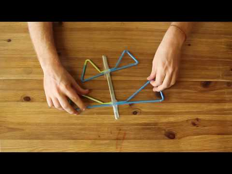 Kids hands-on activity: Build a Plane Powered by Stored Energy