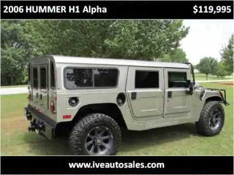 2006 HUMMER H1 Alpha Used Cars Atlanta GA