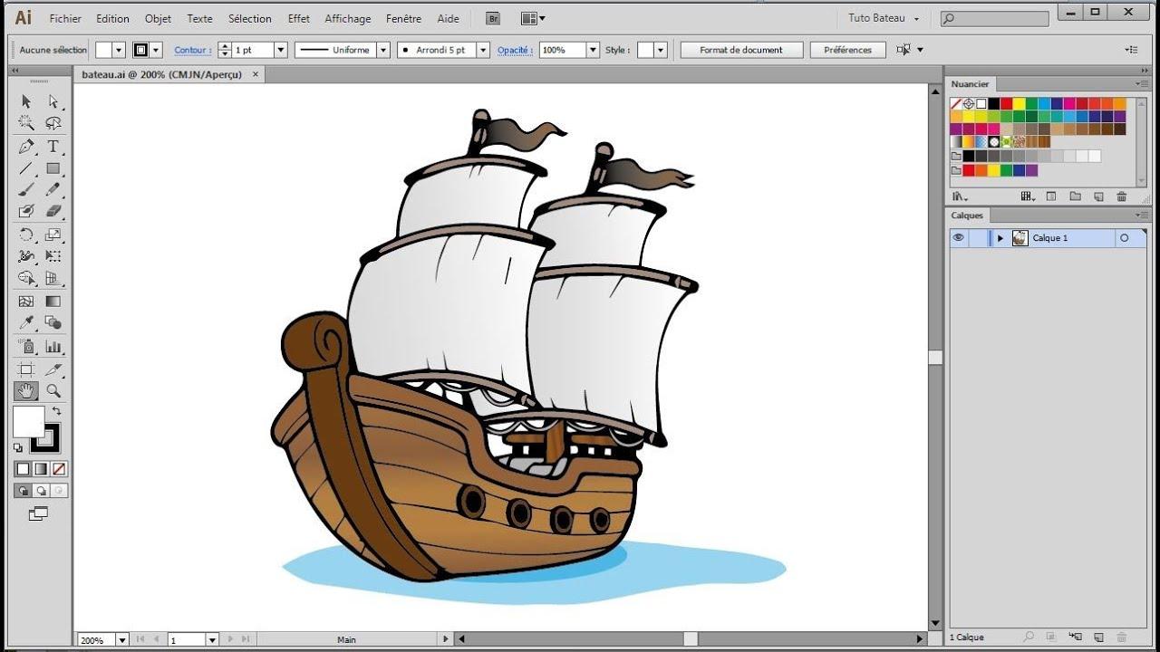 Pot De Peinture Dynamique Tutoriel Illustrator Youtube