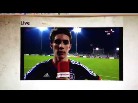 Chicago Fire vs Aspire Qatar Post Game Interview on Al Kass TV