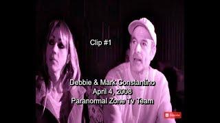 Paranormal Investigating   Debbie & Mark Constantino    Found Footage   Clip 1