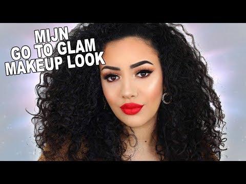 MIJN GO TO GLAM LOOK 2019 | Makeup Tutorial thumbnail