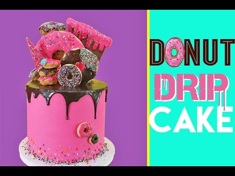 donut-drip-cake-|-strawberry,-funfetti-&-donuts-galore-|-elise-strachan-|-my-cupcake-addiction