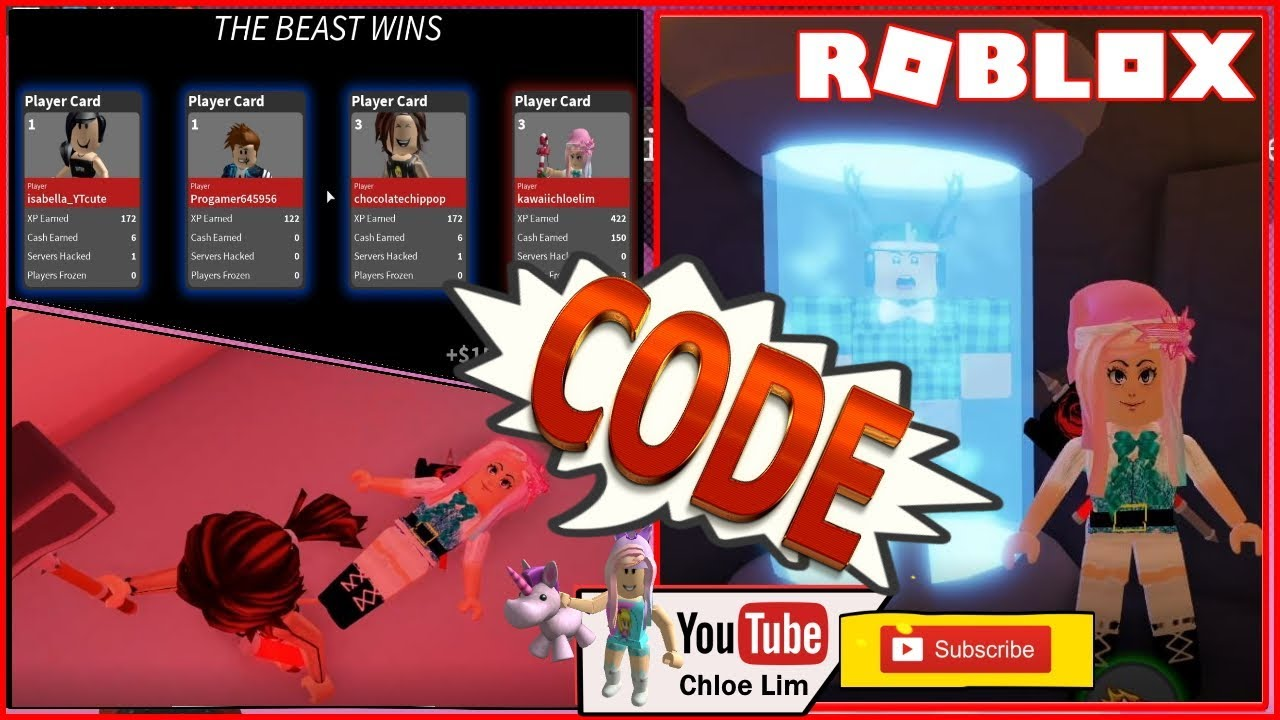 Roblox Gameplay Captive Code Flee The Facility But Different