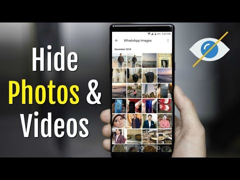 How To Hide Photos/Videos From Phone Without Any App