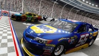 NASCAR The Game: 2013 PC Beta - Texas Race (HD)