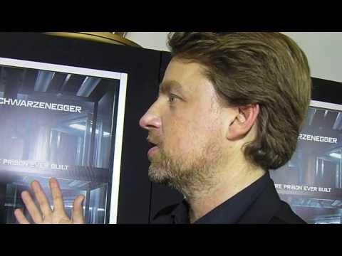 Brandon Krum Interviews Director Mikael Håfström At The Escape Plan Premier!