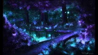 fantasy forest photoshop painting