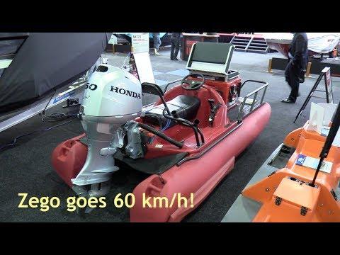 2018 Brisbane Boat Show | Aussie Boat Sales Zego With Honda