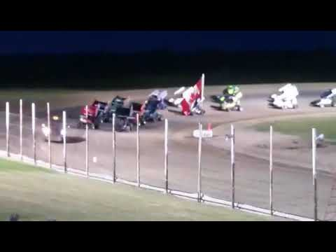 NOSA Devils Lake Speedway Feature 07 08 2017