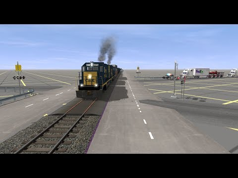 Trainz Railfanning Sneak Peek: Tarboro, NC CSX, ACL