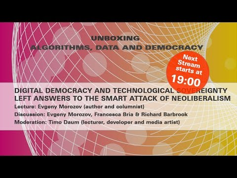 Digital Democracy and Technological Sovereignty
