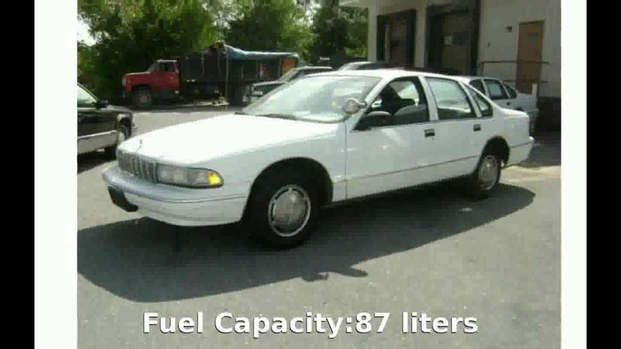 2001 chevrolet caprice classic sedan details specification youtube rh youtube com 2001 Chevy Impala Review 2002 Caprice Cop Car