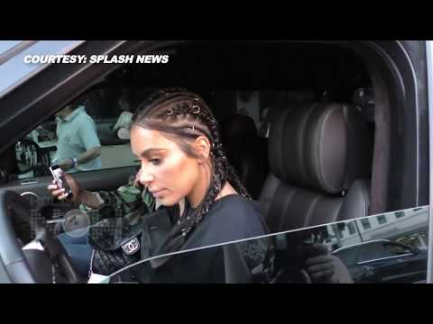 Kim Kardashian REACTS To Mother Kris' CAR ACCIDENT