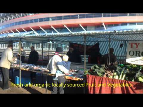 Riverside Farmers' Market - Locally produced, organic, healthy, cheap food - video by Davius