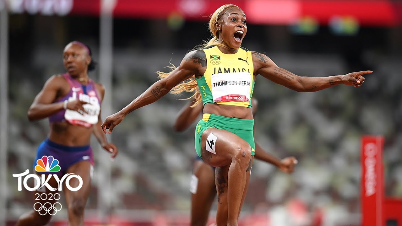Download Olympic Day 8 Update: Elaine Thompson-Herah defends her 100m crown | Tokyo Olympics | NBC Sports