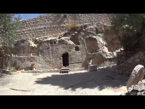 The story of Jesus' tomb - The Garden Tomb, Jerusalem, Israel