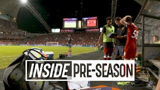 Inside Pre-Season: Liverpool 2-1 Leicester | HONG KONG TUNNEL CAM