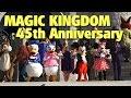 Magic Kingdom 45th Anniversary Ceremony | Walt Disney World
