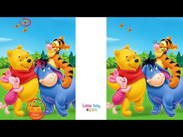 Spot the Difference! Find 3 differences in Each | Find the Difference | Riddles | Spot the error
