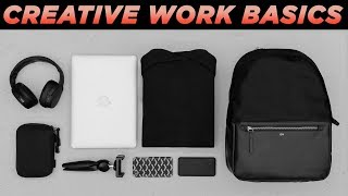 WHAT'S IN MY WORK BAG? | Minimal Men's Every Day Carry | Essentials + Basics (EDC)