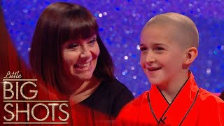 9 Year Old Kung Fu Expert Teaches Dawn Some Weapon Skills | Little Big Shots