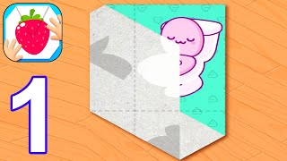Paper Fold - Gameplay Part 1 All Levels 1-28 (Android, iOS) #1 screenshot 1