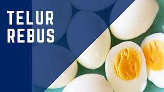 Gambar cover Telur Rebus | Dapur Chef Zam