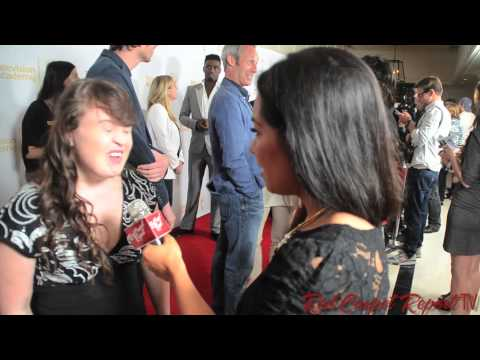 Jamie Brewer at the 66th Emmy Awards Producers Peer Group Reception Emmys