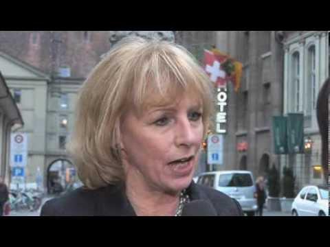 BDP Nationalrätin Ursula Haller zum Waffenexportverbot, Abstimmung 2009