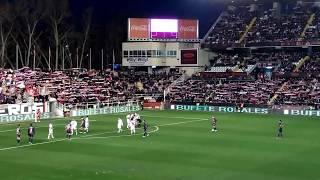 Rayo Vallecano 3 - S.D. Huesca 0. Paradón de Alberto